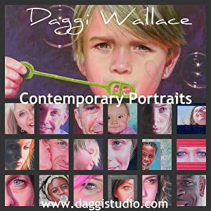 How to quickly and easily create collages of your images and add text for use in mailings, websites, social media, on posters and flyers and other marketing.www.daggistudio.com. #badges #art #howto #marketing