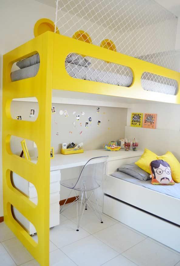 Jaunes: Apprenez à ajouter de la couleur aux environnements de décoration.   – Innenarchitektur