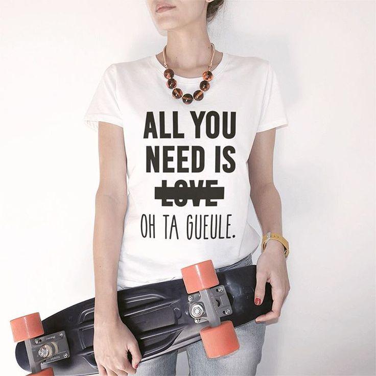 #JaimeLaGrenadine #tshirt #sweat #gift #allyouneedislove #tagueule #amour #love #rupture #bonjour #summer