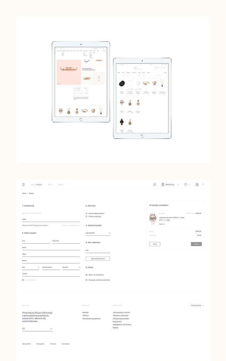 Jewellery E-commerce on Behance
