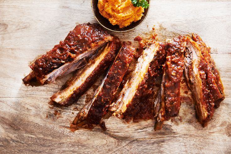 In NYC I learned how to make proper soul food ribs from Sam of Sam's Soul Food Restaurant & Bar - I seriously think they are the best ribs I've ever eaten.
