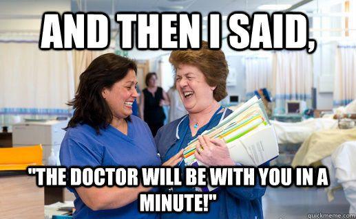 Nurses....