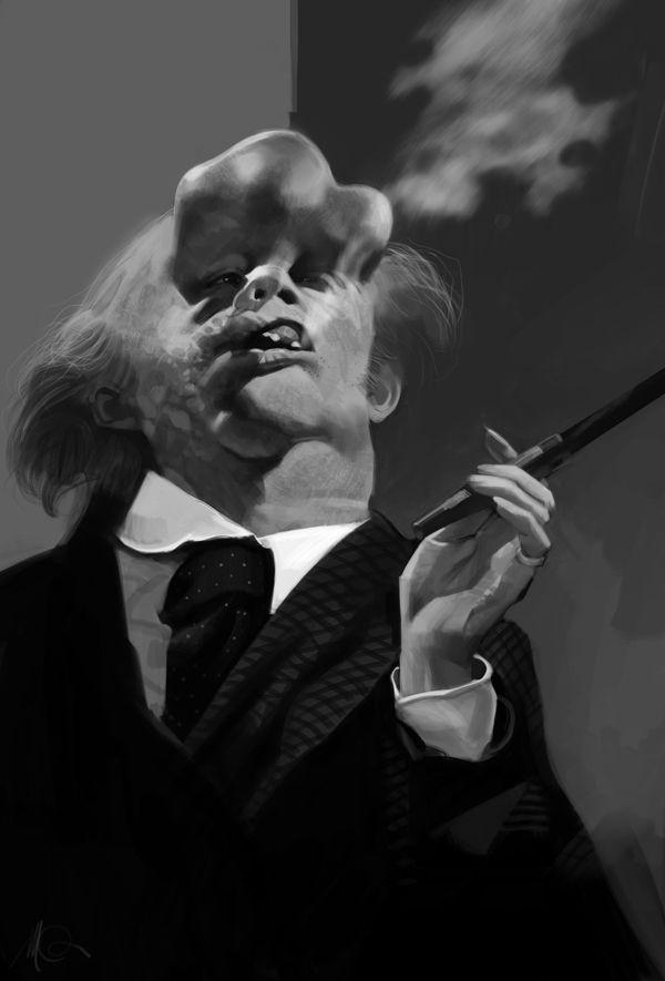 Imágenes: El cine como principal fuente de inspiración en la obra de Massimo Carnevale, ilustrador y pintor italiano - ENFILME.COM