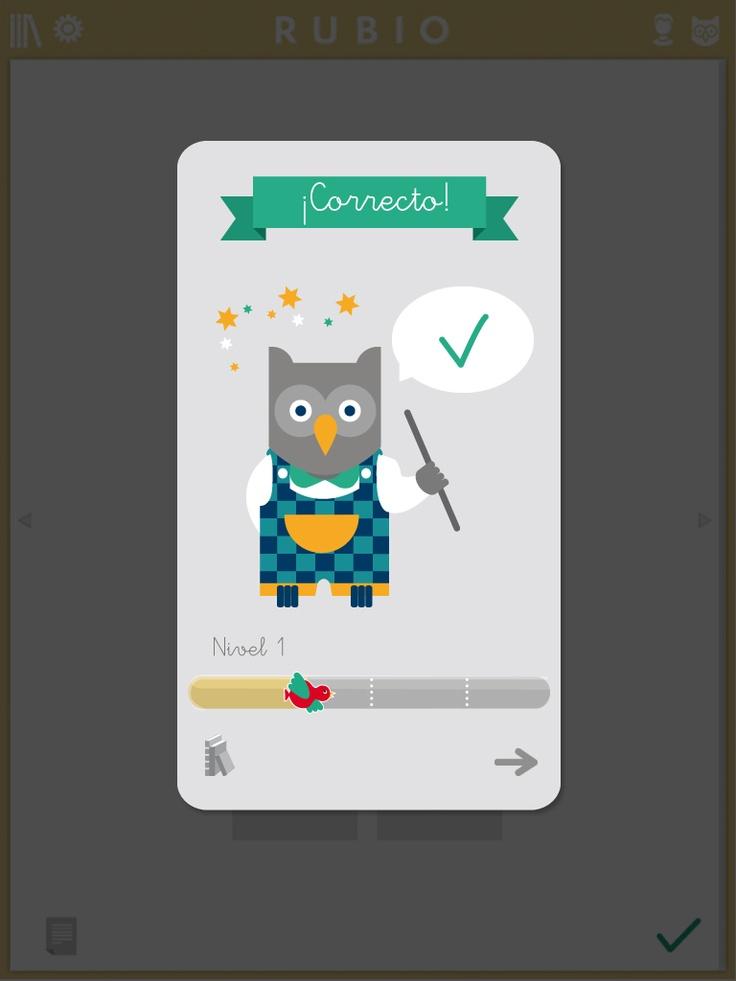 Primeras imágenes de la aplicación de Rubio para iPad