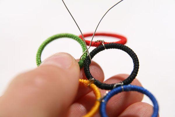 DIY Olympic jewelry! #LIVWOW
