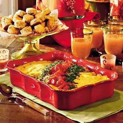 Breakfast Enchiladas, Southern Living  DECEMBER 2004