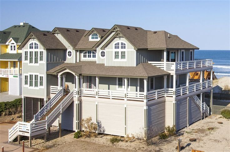 Absolute Elegance 757 L Corolla Nc Outer Banks Vacation Rental Home L Oceanfront Home With