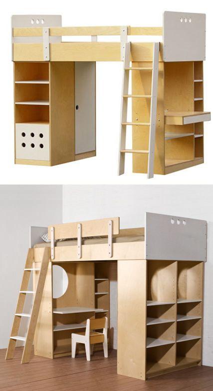217 best images about alcobas juveniles on pinterest. Black Bedroom Furniture Sets. Home Design Ideas