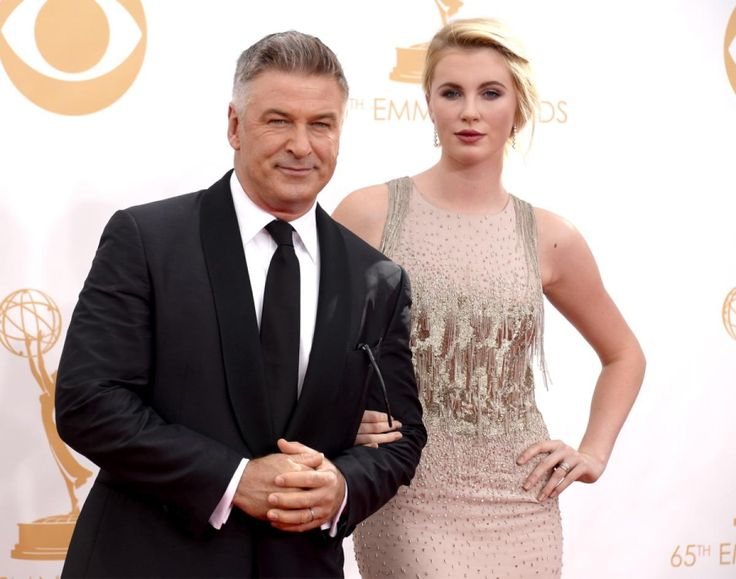 Alec Baldwin may have been the one up for the Emmy, but it was his daughter Ireland who really had people talking as she arrived on her father's arm in a breathtaking beaded creation.