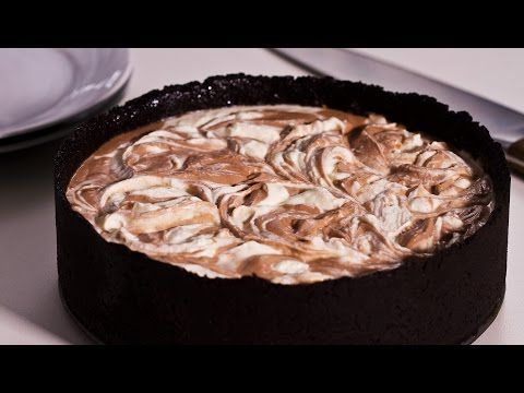 No-Bake Nutella Swirl Cheesecake - YouTube