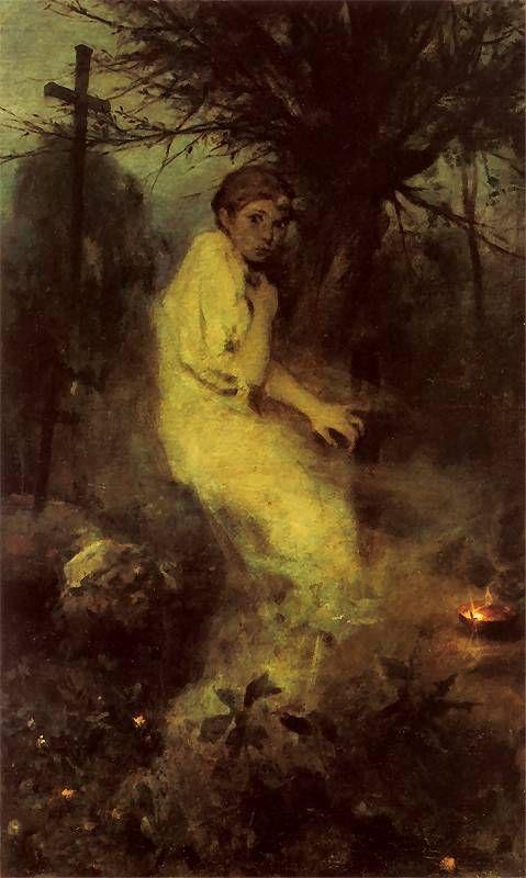 Witold Pruszkowski  - Zaduszki, 1888.