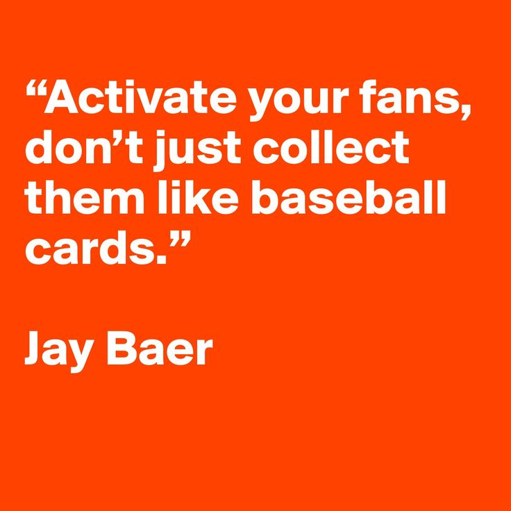 Engage / activate - that's what it's all about. | Social media quote by Jay Baer.