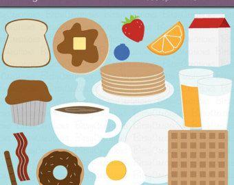 Ontbijt eten illustraties illustraties van voedsel door wonderdigi