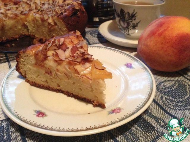 Йогуртовый пирог с персиками ингредиенты