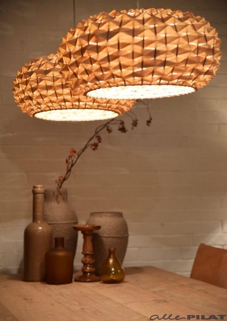 Bamboe Hanglamp Faya van gevlochten bamboe - Woonwinkel Alle Pilat