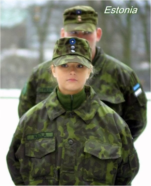 Female Soldiers From Around The World
