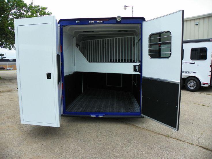 2016 Double D custom 2horse forward and reverse slant