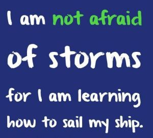 Never be Afraid - Quotes About Strength