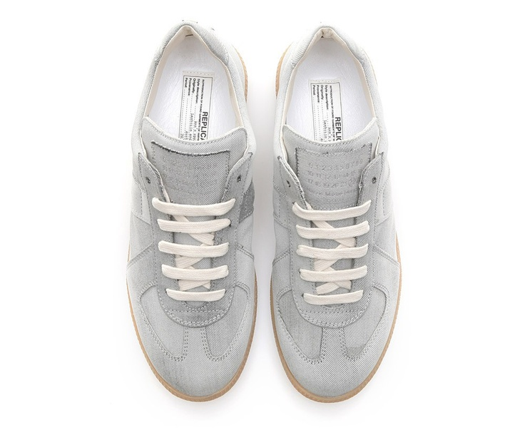 Martin Margiela 'Bleached Denim' Trainers