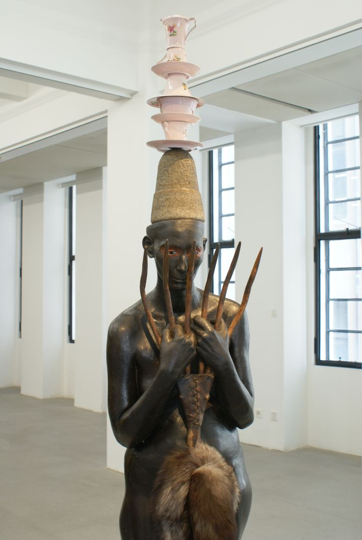 Lady with an ermine, Bharti Kher / 2012