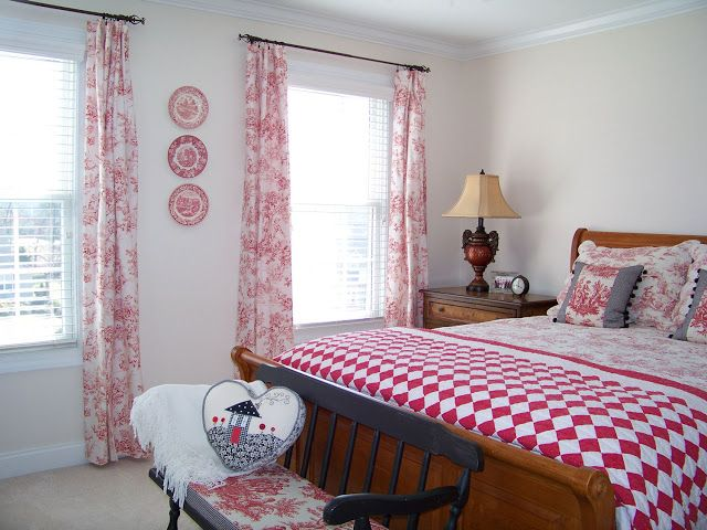 Brown Toile Bedroom Ideas: The Bedroom Furniture, Bedding, Quilts