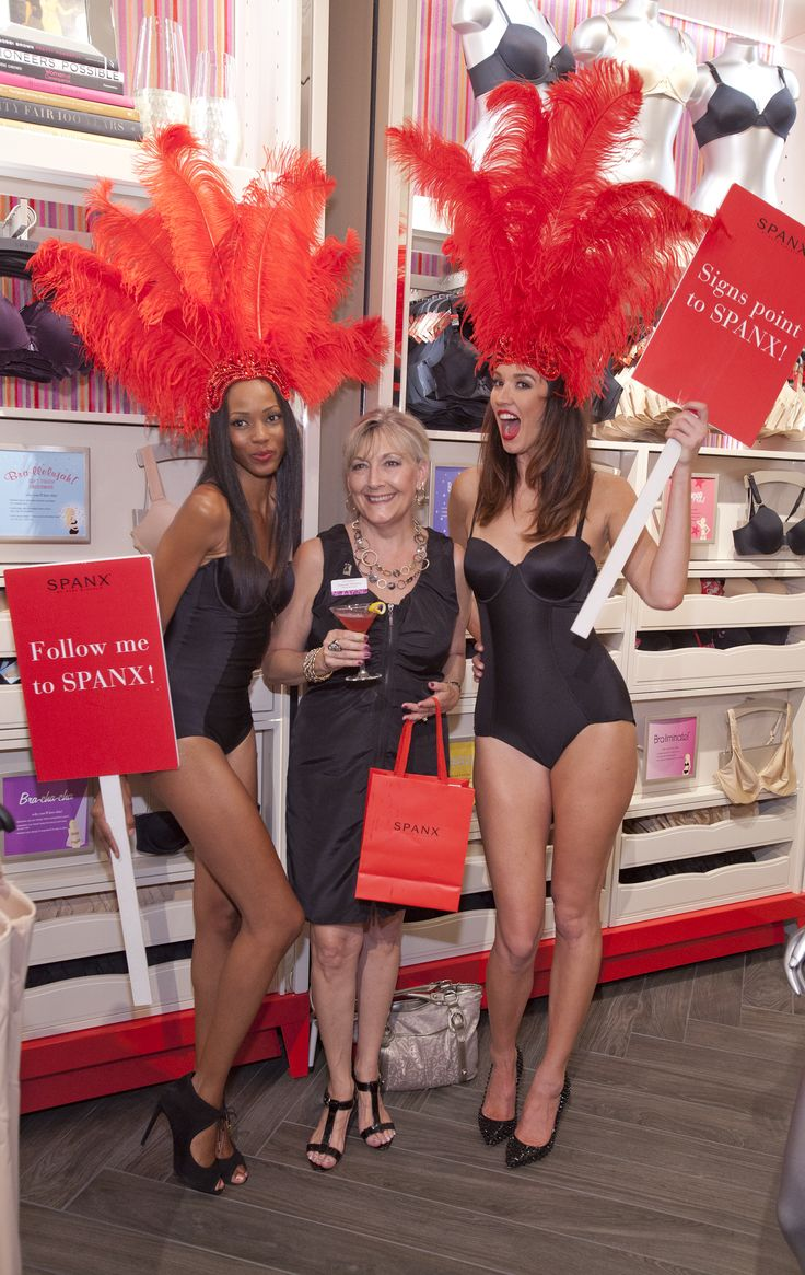 Spanx fans in Vegas came out for Sin City's first Spanx store's Jiggle-Free Jubilee! #SpanxOpens #Vegas