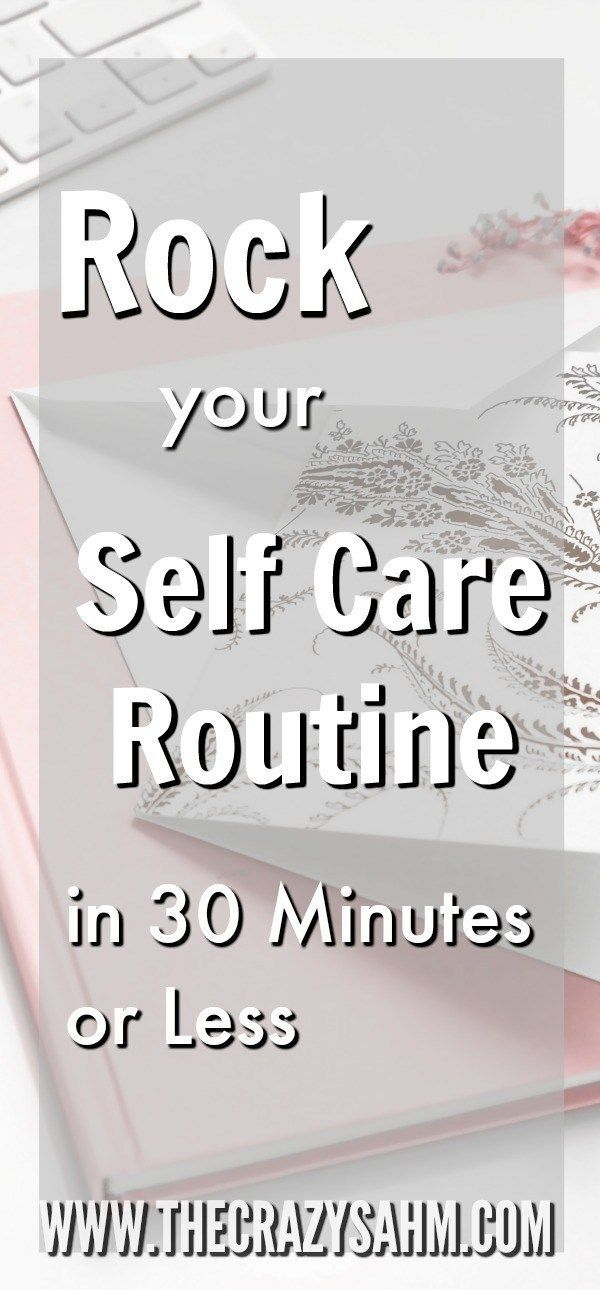 As a busy mom, we all need to be finding more time for selfcare. But where does it fit into a busy schedule? Check out these 20 ideas to get in more self care in 30 minutes or less! #mom #momlife #selfcare #mommy #momma