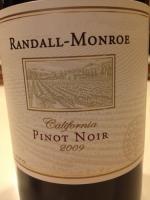 Randall-Monroe Pinot Noir