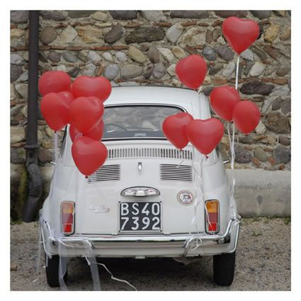 addobbi floreali per auto matrimonio fotografie maison veronica masserdotti