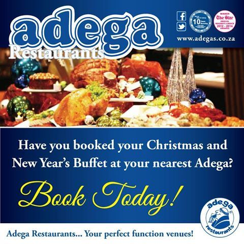 November is here & Christmas is around the corner!!   Have you booked your Christmas & New year's Buffet at your nearest Adega? #ChristmasAtAdega #NewYearsAtAdega https://www.facebook.com/AdegaRestaurants/photos/a.177796858909967.36341.177794255576894/1049212191768425/?type=3&theater