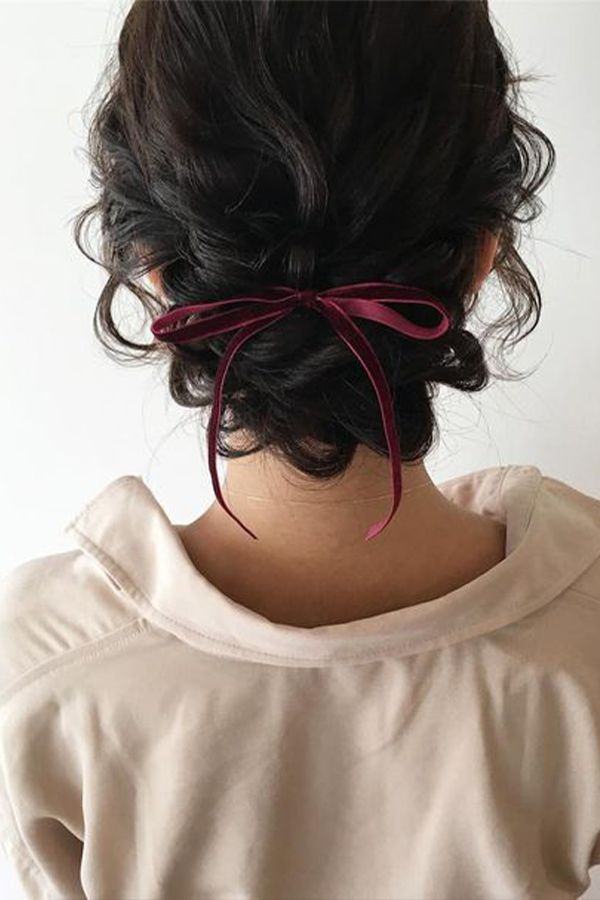 One of the perks of having curly hair is that it doesn't take that much effort to do a nice updo. Check out these ideas to style your hair during the holidays and special occasions.