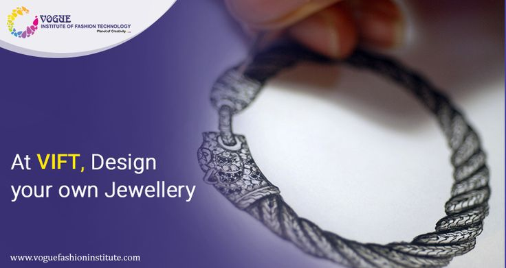 At Vogue Institute of Fashion Technology, we encourage our students to build their portfolios with their own creative designs.  The focus is always on the application and not theoretical knowledge.  For more details visit @ https://goo.gl/kNyL7V  #VIFT | #MaterialsDesignCollege  | #JewelleryDesigning | #DesignCourse |#DesignCollege | #JewelleryMaking