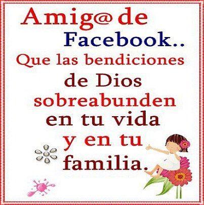 Imagenes Con Mensajes Para Facebook | Mensaje bonito para amigos ...