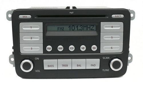 2006-09 Volkswagen EOS Jetta GLI Rabbit AM FM Radio CD Player Part 1K0035161C