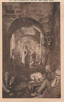 Les Combats du FORT DE VAUX (Juin 1916.) n° 12.