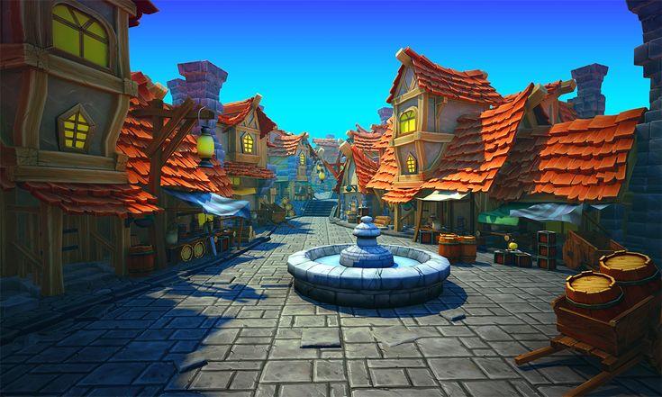 DOK – Pirate village   Thunder Cloud Studio