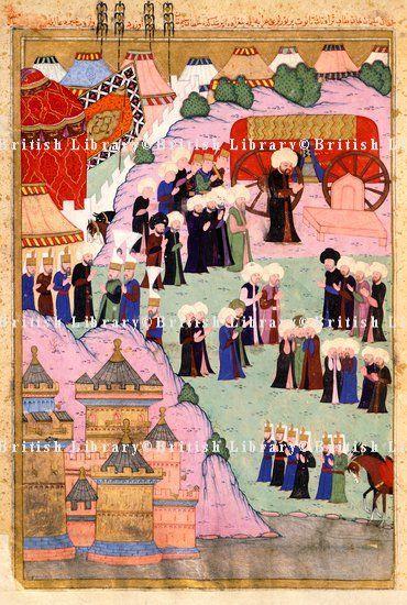 Death of Sultan Suleıman-1566