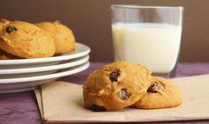 Dýňové sušenky s čokoládovými kousky bez lepku