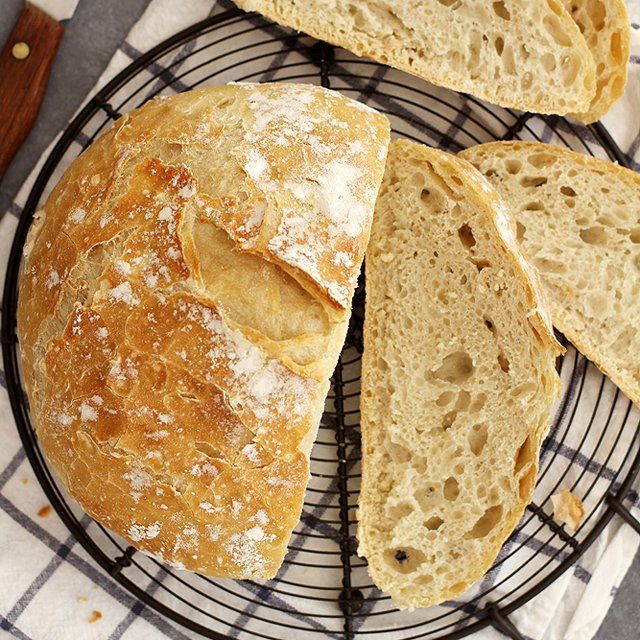 No-knead Dutch oven bread... the easiest bread you'll ever bake.