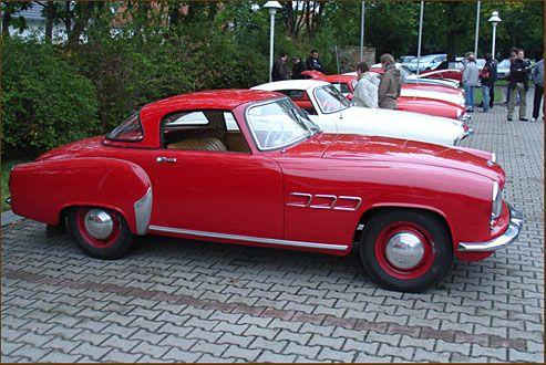 Schönes Retro Desgin-Wartburg Cabriolet.   – Oldtimer