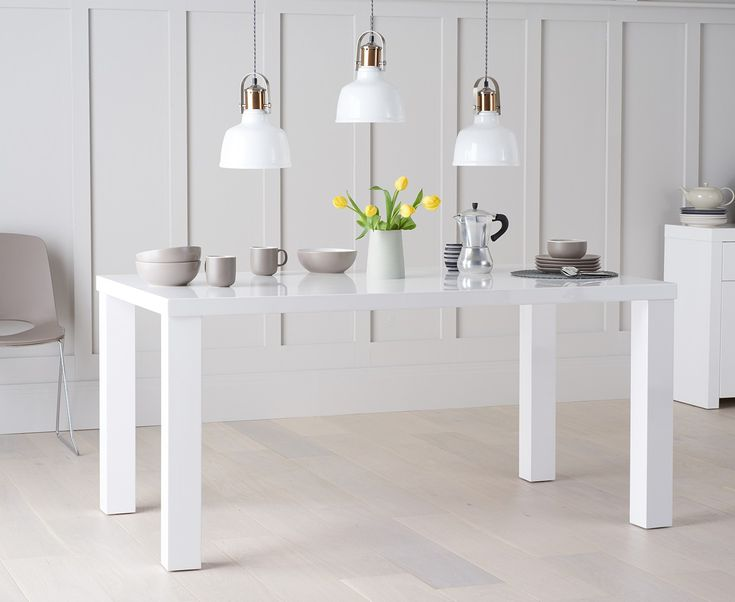 33 best Dining table - white images on Pinterest Athens, Board - dekoration für küche