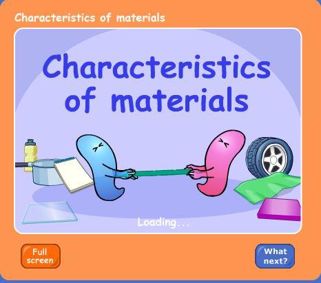 BBC - Schools Science Clips - Characteristics of Materials