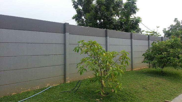 PT. Dua Putra Perkasa - Precast Concrete Fence - Bandung