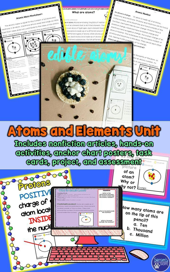 Best 25 periodic table chart ideas on pinterest periodic table atoms and elements unit of posters hands on activities and nonfiction readings gamestrikefo Choice Image