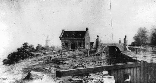 Lachine Canal, 1826