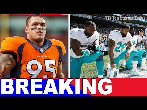 Broncos Player Just Gave Every Kneeling Player AWESOME Ultimatum Right Before They Step On His Field - YouTube