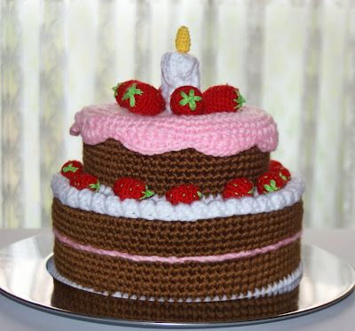 AMIGURUMIS AND CROCHET: CAKE