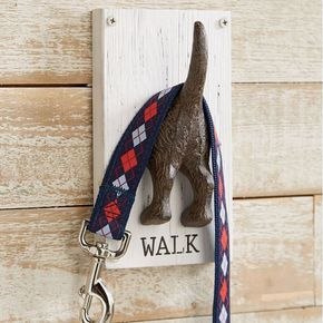Dog Tail Leash Holder