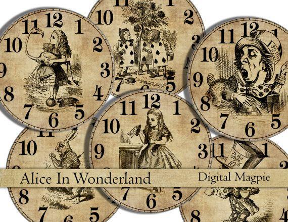 Alice In Wonderland Crafts