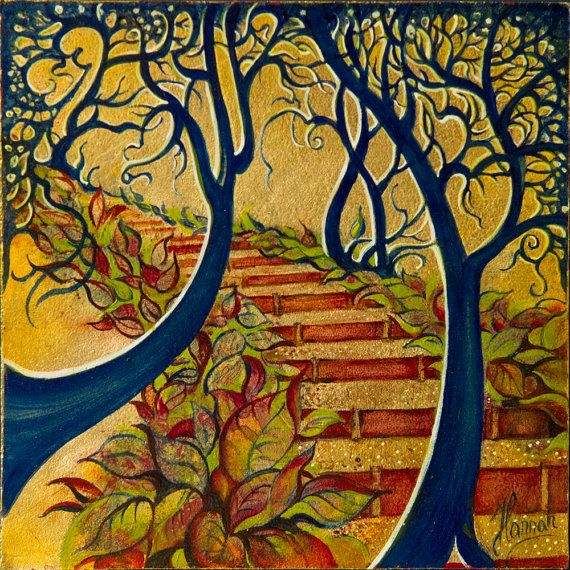 """""""The Stairs to Now"""" from the series """"Tales from the Unknown Book"""""""